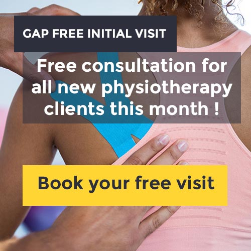 free visit for all new physiotherapy client at total physiocare